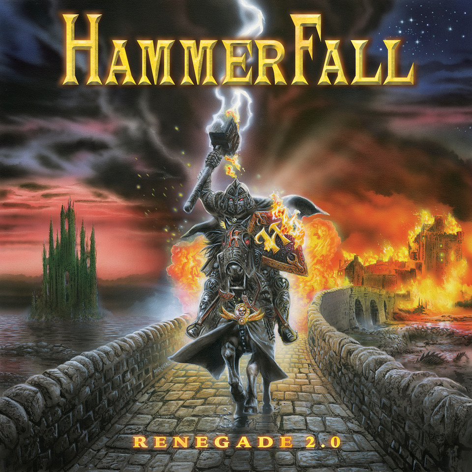 """Hammerfall starts pre-order for """"Renegade 2.0"""" anniversary edition"""