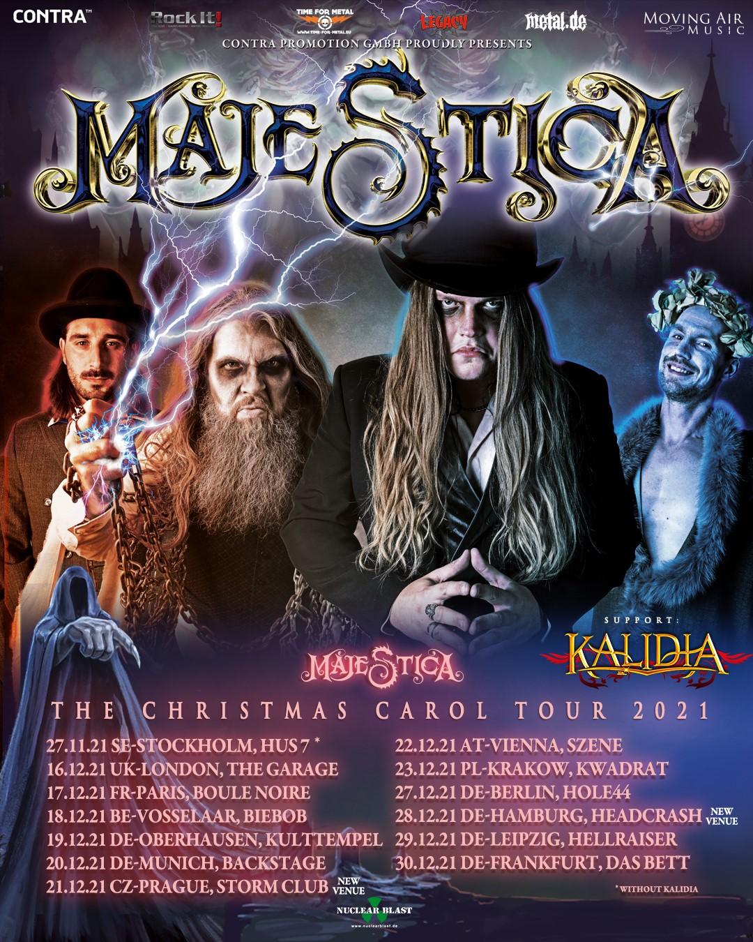 "Majestica release new single, ""Glory of Christmas"""