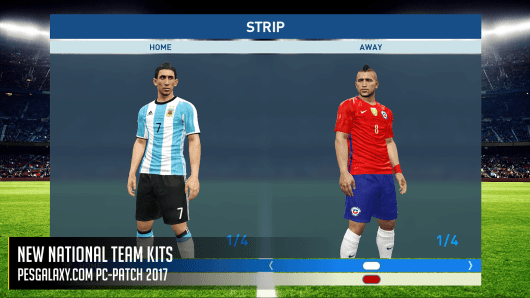 Download Pesgalaxy Patch 2017 2.00 AIO - Patch PES 2017 mới nhất
