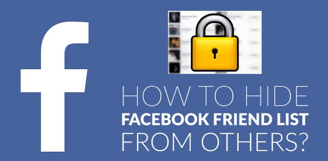 Hướng dẫn cách ẩn danh sách bạn bè trên Facebook đơn giản Hướng dẫn cách ẩn danh sách bạn bè trên Facebook đơn giản