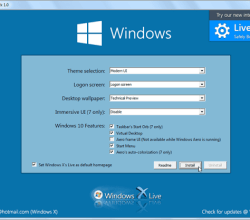 Mang giao diện của Win 10 cho Win 7, 8 với Windows 10 UX Pack 1