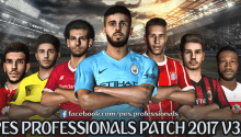 PES Professionals Patch 2017 V3.1 - Patch PES 2017 mới nhất
