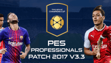 PES Professionals Patch 2017 V3.3 – Patch PES 2017 mới nhất