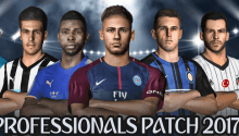 PES Professionals Patch 2017 V3.4 - Patch PES 2017 mới nhất