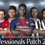 PES Professionals Patch 2017 V3.5 – Patch PES 2017 mới nhất