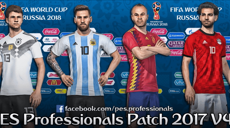 [Fshare] PES Professionals Patch 2017 V4.1 – Patch PES 2017 mới nhất cho PC