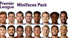 Premier League Minifaces Pack PES 2019 - Minifaces PES 2019 mới nhất