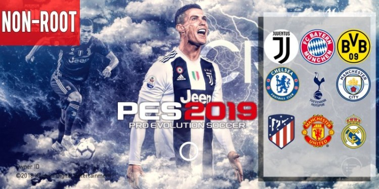 PES 2019 Mobile Android Minimum Patch 2019 V3.0.0