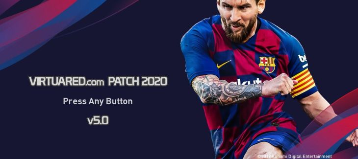 Download PES 2020 VirtuaRED.com Patch 2020 V5 AIO