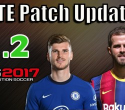 Download PTE Patch 2017 8.2 – Patch PES 2017 update 2020/2021