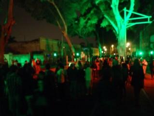 ¡La calle es nuestra! Instalación Barranco-Sonene en Av. Pedro de Osma, Barranco.