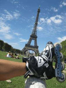 Turismo sobre patines