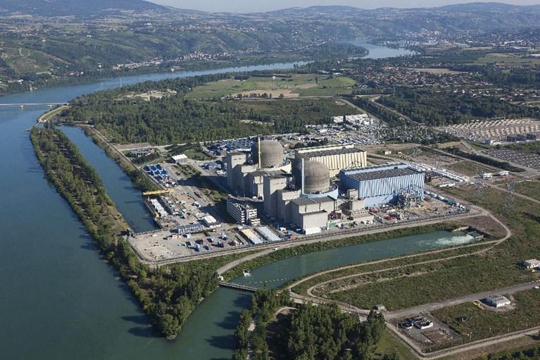 Image de la centrale nucléaire de Saint-Alban / Saint-Maurice-l'Exil pour illustrer la page environnement du site de la Mairie du Tupin et Semons tupinetsemons.fr