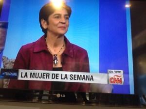 Marisela Valero, Presidenta de la Fundación Planeta Vital, conductora y productora del espacio radio
