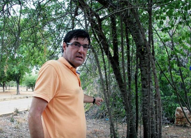 Francois Galletti, Presidente de la Fundación Jardín Botánico de Maracaibo