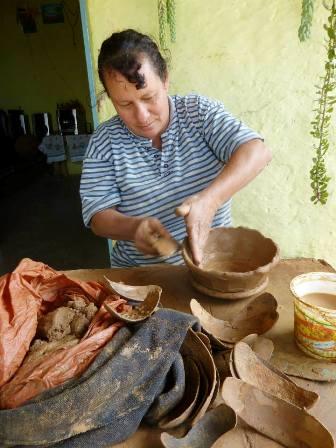 Alfarería tradicional en El Maciegal (Pueblo Nuevo del Sur). Foto cortesía Pueblos del Sur 4