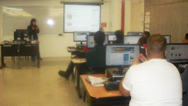 La periodista Ligia Villamediana es una de las facilitadoras del Curso. Foto cortesía Gisela Rodríguez