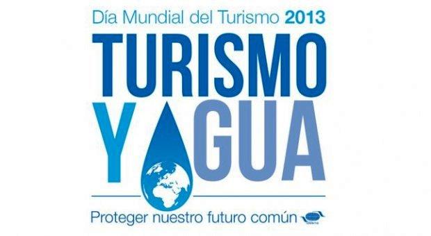 El lema Turismo y Agua: proteger nuestro futuro común