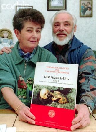 Erika y Helmut Simon el matrimonio que encontró a Otzi