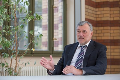 Profesor Juergen Kurths. Foto http://www.pik-potsdam.de/