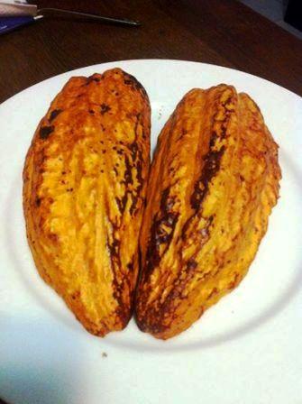 Fruto del cacao, foto Marisela Valero