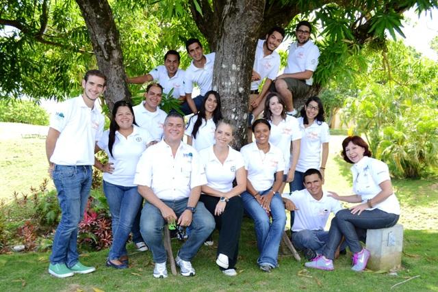 Ganadores del BYCI 2014 con Bayer y Vitalis