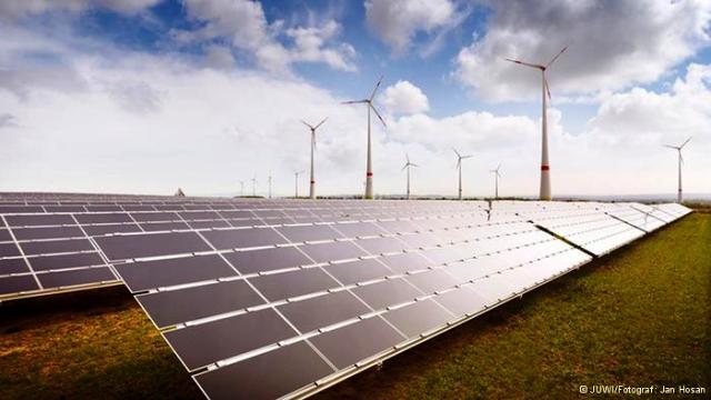 energías renovables eólica solar