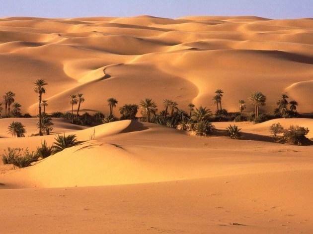 Desierto de Sahara fuente de energía solar para el mundo