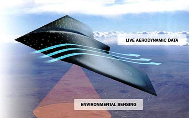 Fuselaje inteligente. Foto Centro de Tecnología Avanzada de BAE Systems