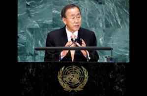 Ban Ki Moon Secretario General de la ONU