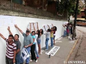 Becarios de AVAA recuperaron un espacio en Palo Verde : Cortesia El Universal