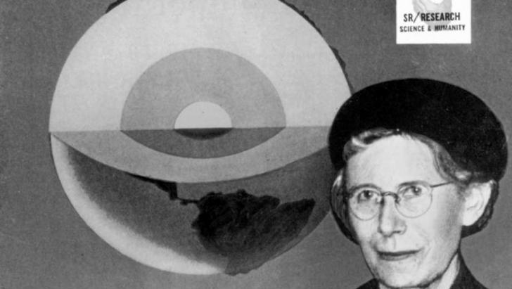 Inge Lehmann y su visión del nucleo de la tierra