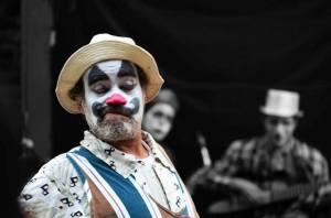 Carlos Sánchez actor polifacético. Foto Jesús Sansonetti