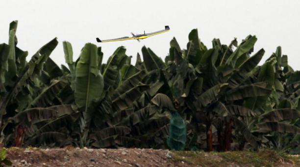 La bananera Garumal en Ecuador utiliza drones