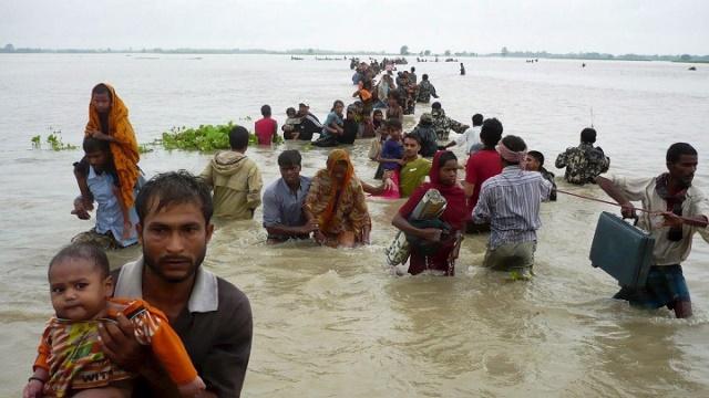 Bangladesh como otras zonas del planeta sufren los efectos del cambio climático