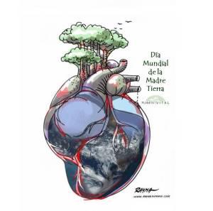 Obsequio de la Artista Rayma Suprani para la Madre Tierra