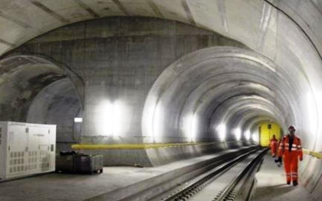 Maravilla tecnológica el tunel de Saint Ghotard