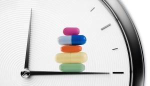 La mejor hora para tomar las medicinas