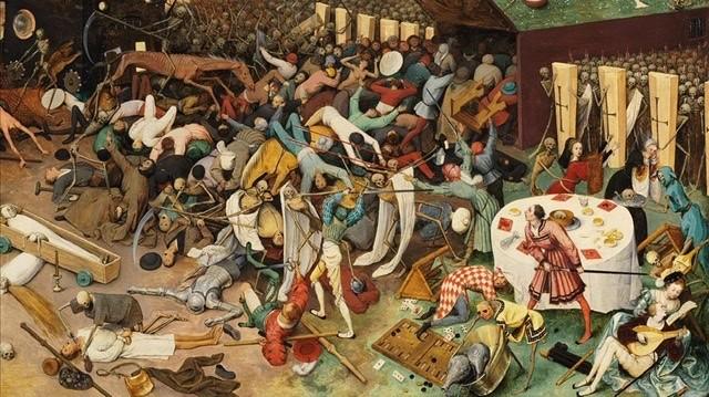 La peste vista por Brughel
