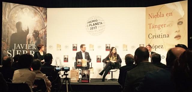 Presentación Premio Planeta 2017