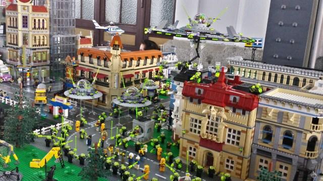 Exposición LEGO y el Cine