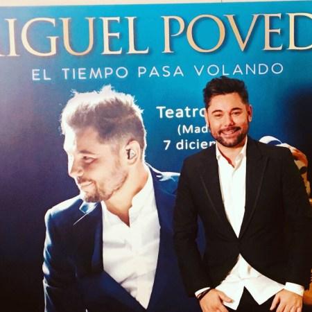 """Miguel Poveda presenta """"El tiempo pasa volando"""""""