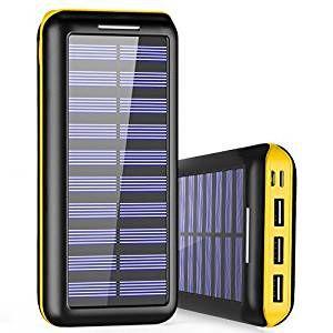 Mejores cargadores solares para móviles