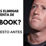 ¿Piensas cerrar tu cuenta de Facebook? Prueba esto antes