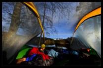morgen i teltet