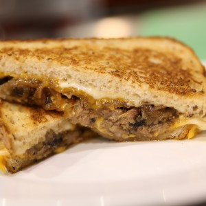 Beer & Beef Grilled Cheese