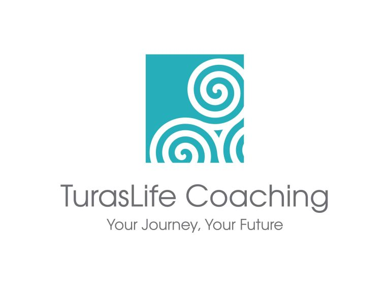 "Logo: Triskele with the words ""Your Journey Your Future"""