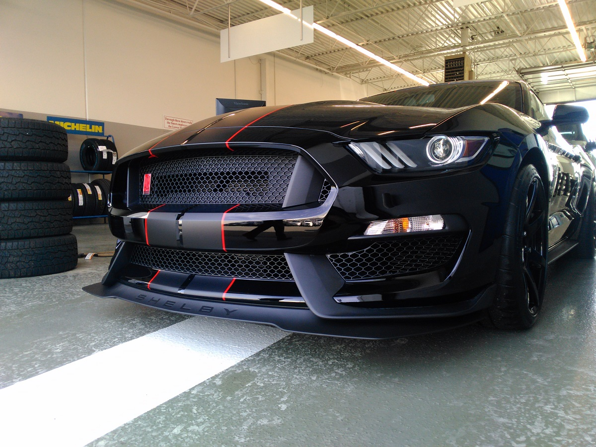 Shelby Mustang GT350R Transport