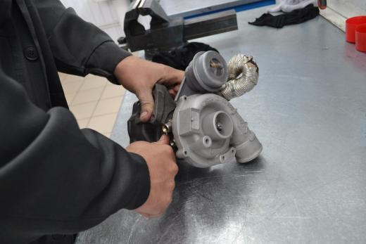 Volkswagen Sharan, фольц шаран, ремонт турбины, 058 145 703 J