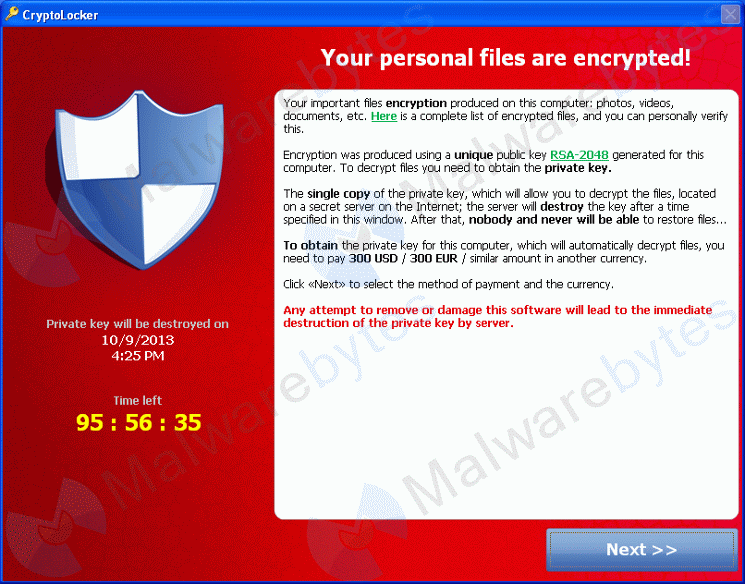 Ransom Viruses managed it services